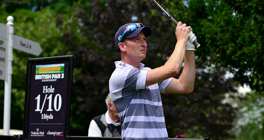 Reigning champion Steven Tiley begins title defence with five consecutive birdies