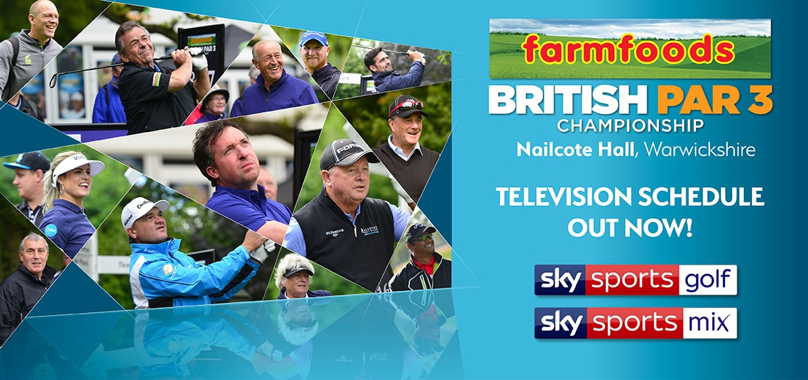 Richard O'Hanlon wins the 2017 Farmfoods British Par 3 Championship