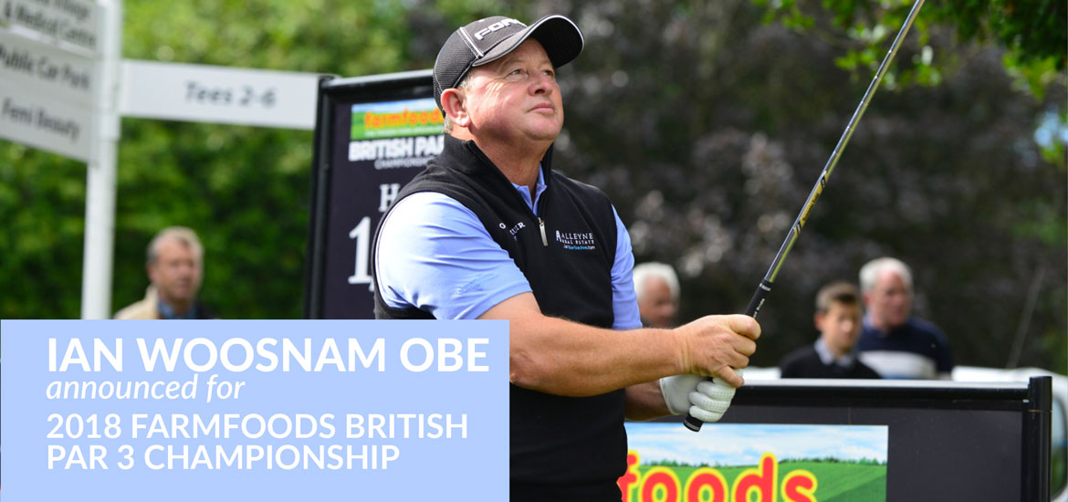 Former Masters champion, Ian Woosnam OBE